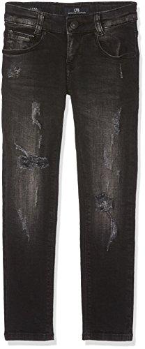 LTB Jeans LTB Jeans Mädchen Luna G Jeans, Schwarz (Carma Black Wash 50369), 110 (Herstellergröße: 4-5)
