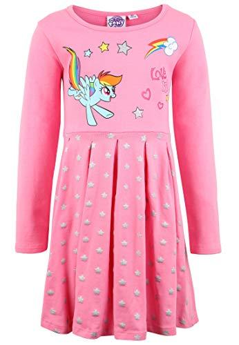 Kostüm Pony Little Mädchen My - My little Pony Kleid, Fuchsie - 116/6 (128/8 Jahre)