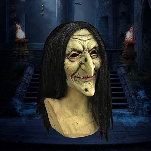 Alte Halloween Kostüm Zum Verkauf - YCHBOS Halloween Maske/Alte Hexen Maske/Halloween Kostüm