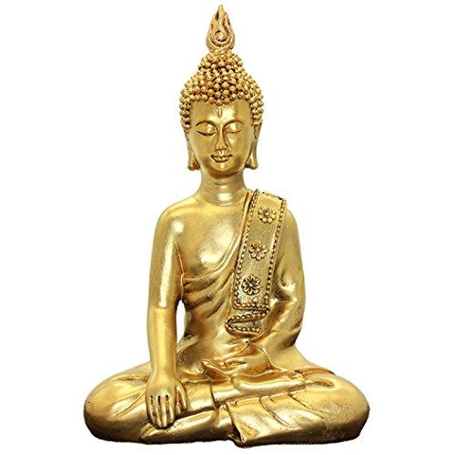 Dusky Seaside Sparrow Thai Buddha Ornamenti Home Decoration Crafts Resin Statua di Buddha BS117