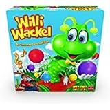 Goliath 30960 Willi Wackel | Rappel Zappel lustiges Aktions-Spiel | tanzender Tausendfüßler als Geschicklichkeits-Spiel | kindgerechtes Mehrspieler-Spiel ab 4 Jahren | Kinder Spielzeug mit witziger Musik