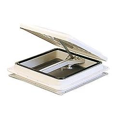 Thermoform – Lucernario per camper, 40 x 40 cm, colore bianco