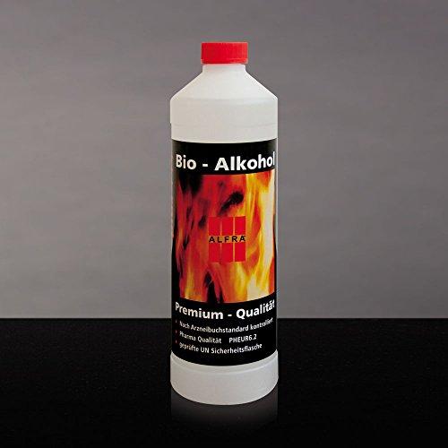 Unbekannt Bioethanol Bio-Ethanol Premium Ethanol Alkohol Bioalkohol 4X 1 Liter im Karton Alfra Alfratol (Bio-getreide Alkohol)
