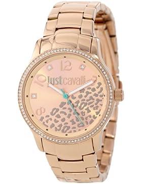 Just Cavalli Damen-Armbanduhr Analog Quarz Edelstahl R7253127510