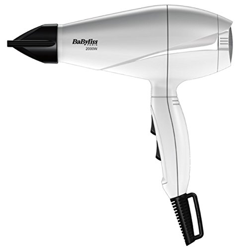 BaByliss 6604WE Profi-Haartrockner Pro Light 2000 Watt, weiß