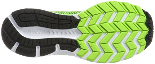 Saucony Cohesion 10, Chaussures de Running Homme Vert (Slime/black)