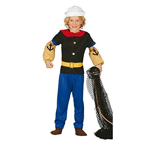 Popeye Sailor Kostüm für Kind (Popeye Kostüm Kind)