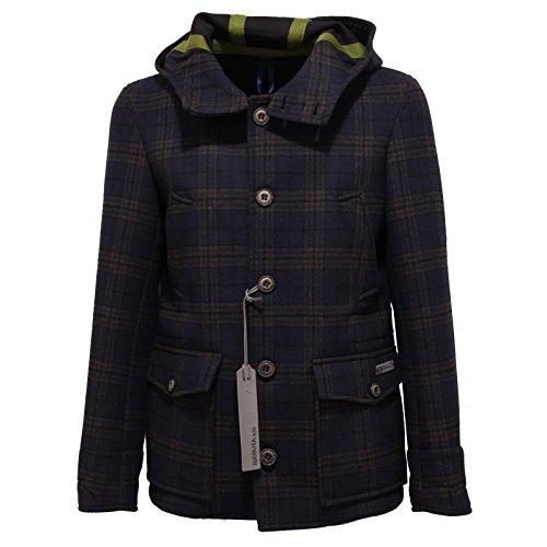 4664R cappotto con cappuccio uomo HA.VA.NA & CO. lana coat wool men [48]