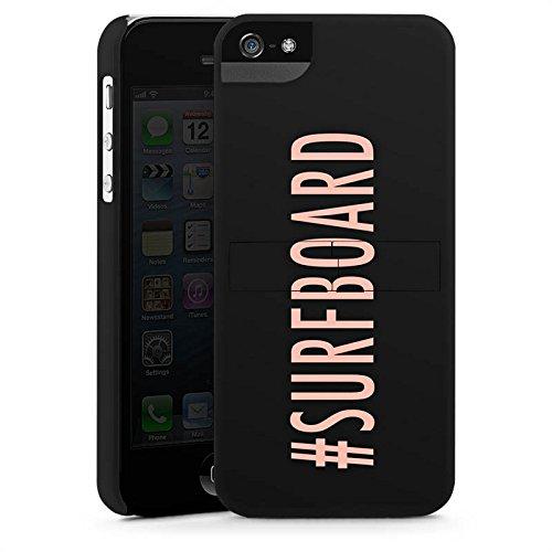 Apple iPhone X Silikon Hülle Case Schutzhülle Surfboard Flawless Statement Premium Case StandUp