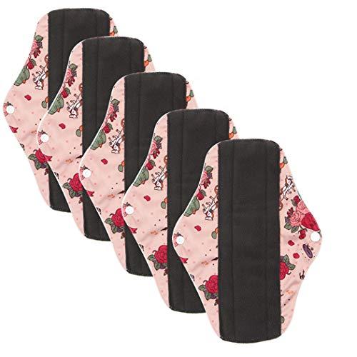 ZOYLINK Mama Tuch Damenbinde Menstrual Pad Wiederverwendbare Slipeinlage -