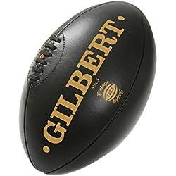 Gilbert Ballon de Rugby Vintage - Marron foncé - Taille 5