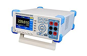 Peaktech 4096 20000 Counts Graphic True Rms Up To 100 Khz Table Multimeter With Lan And Usb Interface Rs 232 Digital Multimeter With 4 Inch Tft Colour Display 1 Million Points Max 150 Values Sec Business Industry Science