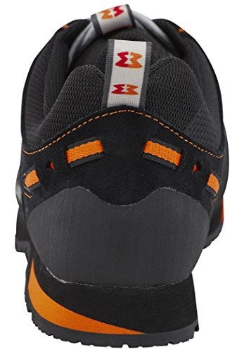 Herren Leichtwanderschuh Dragontail LT Black/Orange