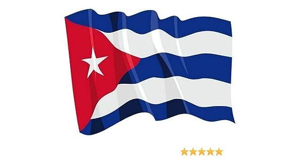 Aufkleber Sticker Flagge Fahne Kuba Autoaufkleber