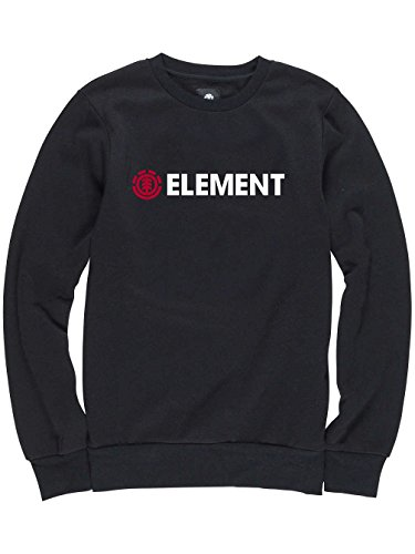Element Horizontal Crew Neck Flint Black