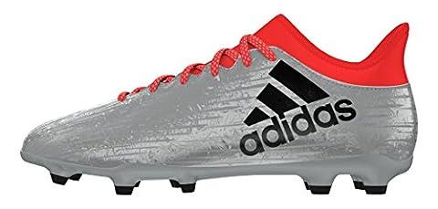 adidas Herren X 16.3 FG Fußballschuhe, Plata (Plamet / Negbas / Rojsol), 42 2/3 EU