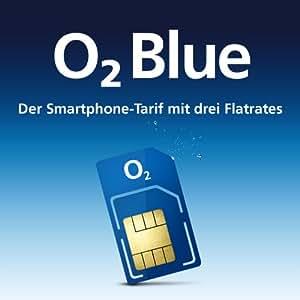 """O2–bleu - 100–téléphone portable-""""un forfait 24 mois durée standard/micro-sIM)"""