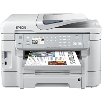 Epson WorkForce WF-3530DTWF All-in-One Printer, with Wi-Fi, Fax, Duplex and Dual Trays