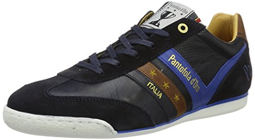 Pantofola d'Oro Herren Vasto Uomo Low Sneaker Blau (Dress Blues) zXDN1U