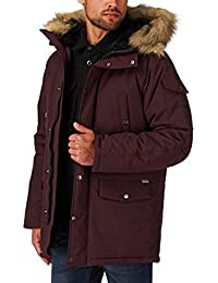 Carhartt Anchorage Parka Jacket Damson/Black Large