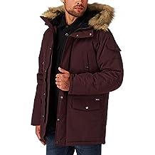 Carhartt Anchorage Parka Jacket Damson/Black Large
