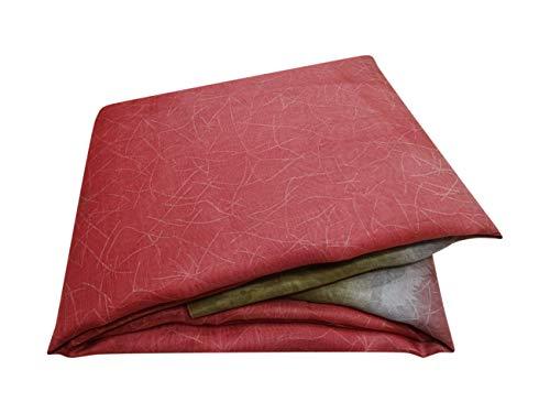 PEEGLI Frauen Indischen Saree Abstrakt Gedruckt Braun Vorhang Drapieren Lässig Vintage Ethnische Saree Baumwollmischung Handwerk Stoff 5 Yard - Braun Baumwolle Salwar
