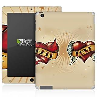 Apple iPad 4 Aufkleber Schutz Folie Design Sticker Skin Liebe HASS Herz