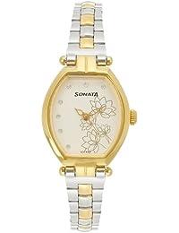 Sonata Wedding Analog Silver Dial Women's Watch - 8083BM01