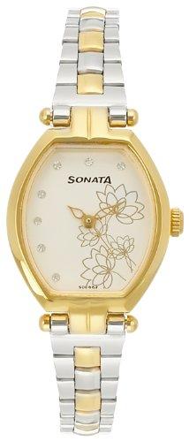 Sonata Wedding Analog Silver Dial Women\'s Watch - 8083BM01