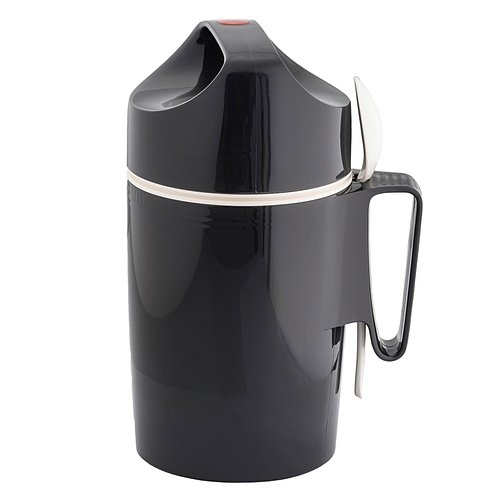 Rotpunkt Speisegefäß 0,85 Liter, Slate Grey, Kunststoff, Grau 12.1 x 12.1 x 25.7 cm