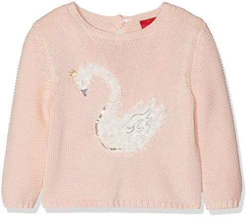 s.Oliver Junior Baby-Mädchen 65.810.61.2092 Pullover, Pink 4058, 92