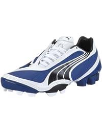 PUMA v1.08 i FG Jr 101502 10, Unisex - Kinder Sportschuhe - Fußball, blau