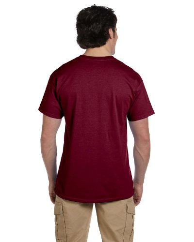 Fruit of the Loom T-Shirt Baumwolle, 3931 Rot - Maroon