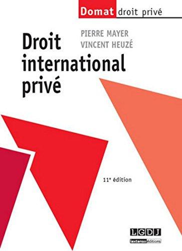 Droit international privé par Pierre Mayer