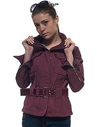 best website bbee5 c5c8b Amazon.it: Cintura - Peuterey / Giacche e cappotti / Donna ...