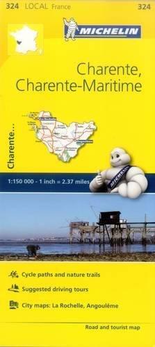 Michelin France Charente, Charente-Maritime par Michelin Travel & Lifestyle