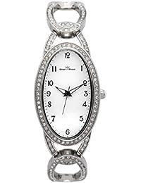 Yonger pour elle DMC 1442/29 - Reloj , correa de acero inoxidable color plateado
