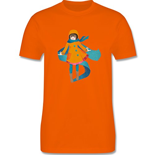 Statement Shirts - Herbstspaziergang - Herren Premium T-Shirt Orange