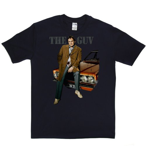 The Guv TV Movies Comedy Tee's T-shirt Marineblau
