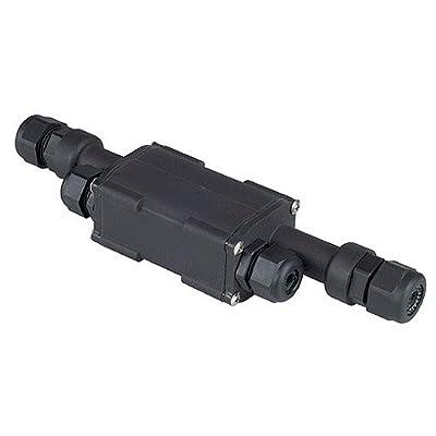 Verbindungsbox IP67 schwarz von SLV