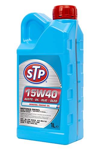 STP STA15W401L Olio 15W40 TDI. Motori Diesel. API SL/CF ACEA A3/B3-12 DEUTZ DQC II-05 MB 229.1 VW 505.00, 1 litro