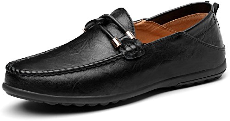 NBWE Herren Peas Schuhe Große Größe Retro Wilde Freizeitschuhe Bequeme Atmungsaktive Fahr Schuhe