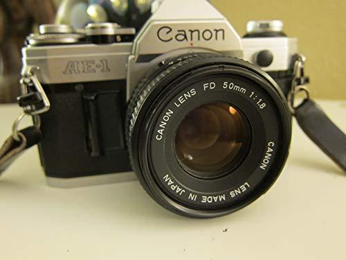 Canon AE-1 Analoge Spiegelreflexkamera inkl. Objektiv 70-210 mm