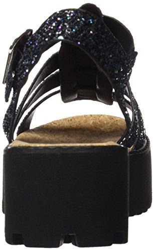 Coolway Flamingo, plateforme femme Noir (Black)