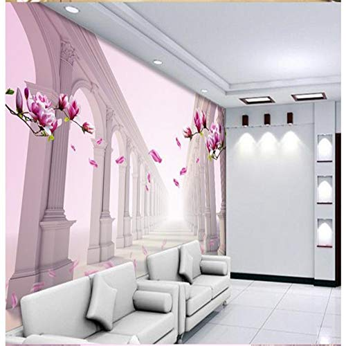 3D stereoskopische Mode Wandbild personalisierte Tapete Wandbild TV Wandbild gemalt Kulisse Tapete, 400cmX280cm -
