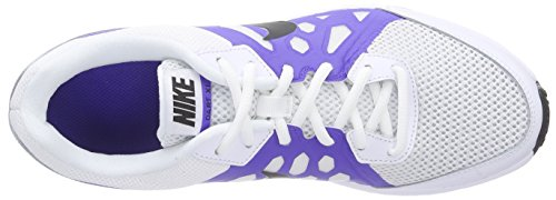 Nike Dart 11, sneaker homme White/Black-Prsn Violet-White