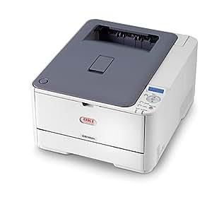 OKI C510dn Imprimante couleur recto-verso DEL A4 1200 ppp x 600 ppp jusqu'à 30 ppm (mono) / jusqu'à 26 ppm (couleur) capacité : 350 feuilles USB, 10/100Base-TX