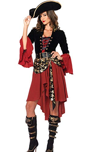 Hxp Cosplay Kostüm Weibliches Piratenkostüm, Einheitliches Rollenspiel des -