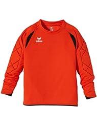 erima Torwarttrikot Tanaro - Camiseta de portero de fútbol para niño, color rojo, talla 12 años (152 cm)