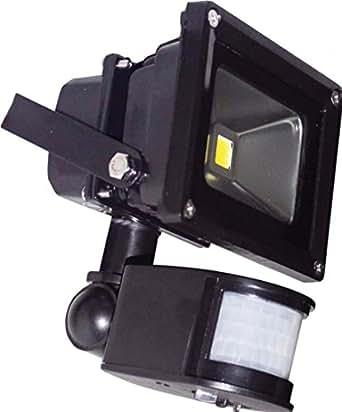 Projecteur à LED 10W avec Détecteur de Présence PIR
